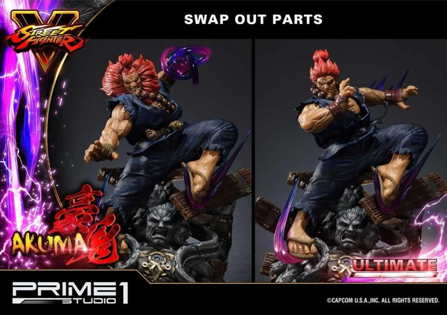 Street Fighter V Akuma Ultimate Premium Masterline Version