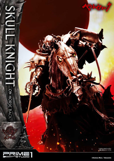 Skull Knight on horseback 1/4 Statue
