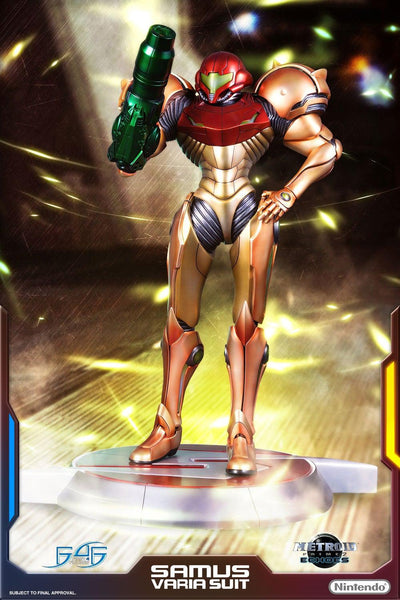 Metroid Prime: Samus Varia Suit 1/4 scale Statue By First 4 Figures
