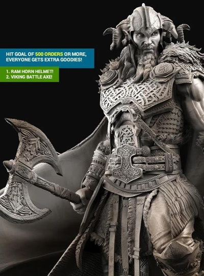 Viking Thor 1/4 Scale Statue (CALEB NEFZEN) by XM Studios