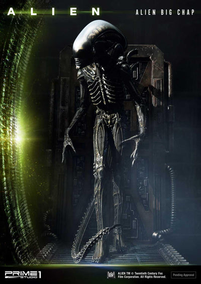 Alien Big Chap 3D Wall Art Deluxe Statue
