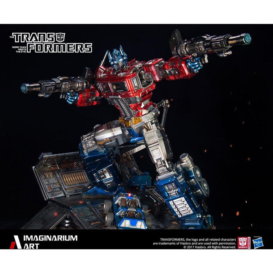 Optimus Prime Statue by Imaginarium Art