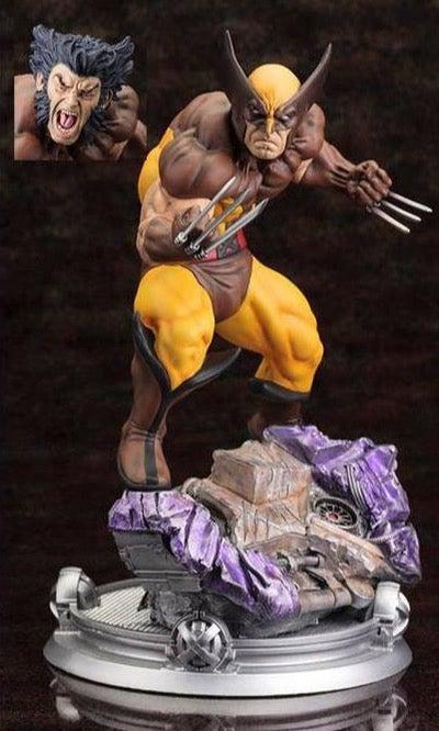X-Men Danger Room Sessions: WOLVERINE BROWN COSTUME 1/6 Scale Fine Art Statue