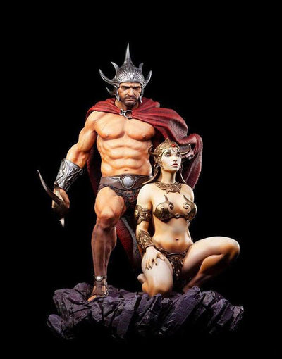Swordsman Of Mars (Frazetta Legacy Series) 1/4 Scale Statue by Level52 Studios
