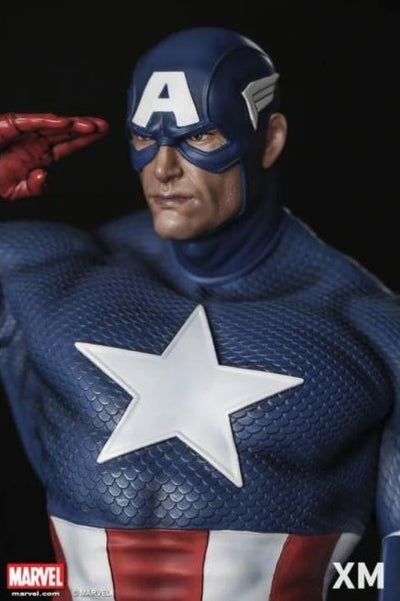 Captain America Sentinel Of Liberty 1/4 Scale Statue by XM Studios