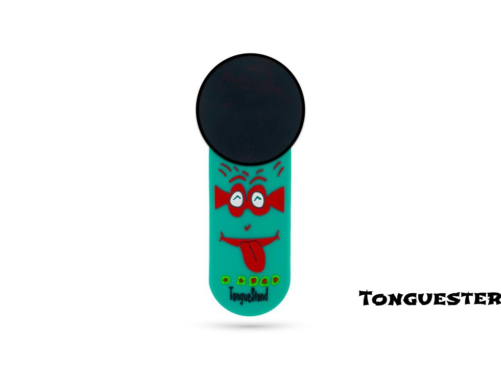 "TongueStand ""TongueSter"" {phone-stand. grip. car phone holder}"