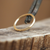 14-karat Yellow Gold Hoop