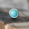3mm Amazonite Pushfit Stud-Pushfit-Caterpillar Arts