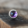 3mm Amethyst Cartilage Earring-Cartilage Earring-Caterpillar Arts