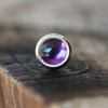 3mm Amethyst Pushfit Stud-Pushfit-Caterpillar Arts