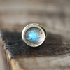 3mm Labradorite Pushfit Stud-Pushfit-Caterpillar Arts