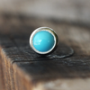 3mm Turquoise Cartilage Earring-Cartilage Earring-Caterpillar Arts