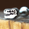 T-Rex Skull Internally Threaded Labret-Internally Threaded Labret-Metal Lotus