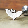 Bat Internally Threaded Cartilage Earring-Internally Threaded Labret-Metal Lotus