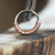 Copper Half-Wrap Hoop