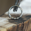 Niobium Twist Hoop-Nose Hoop-Caterpillar Arts