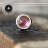 3mm Pink Tourmaline Single Flare Plug-Single Flare Plug-Metal Lotus