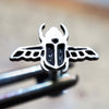 Scarab Beetle Internally Threaded Cartilage Earring-Internally Threaded Labret-Metal Lotus