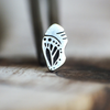 Silver Butterfly Chrysalis Cartilage Earring-Cartilage Earring-Caterpillar Arts