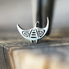 Silver Manta Ray Cartilage Earring-Cartilage Earring-Caterpillar Arts