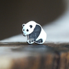 Silver Panda Cartilage Earring-Cartilage Earring-Caterpillar Arts
