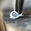 Silver Snail Cartilage Earring-Cartilage Earring-Caterpillar Arts
