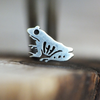 Silver Tree Frog Cartilage Earring-Cartilage Earring-Caterpillar Arts