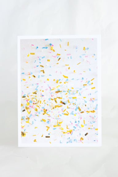 Multi Confetti Card