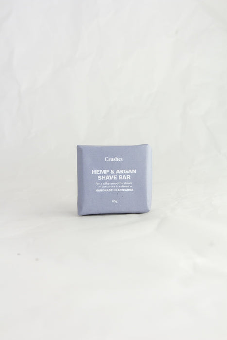 Hemp & Argan Shave Bar