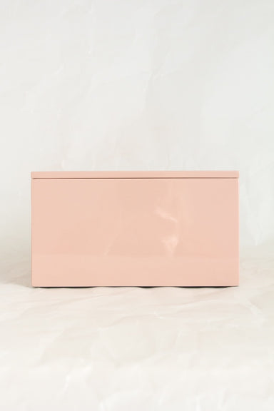 Glossy Jewellery Box Large - Iced Tea
