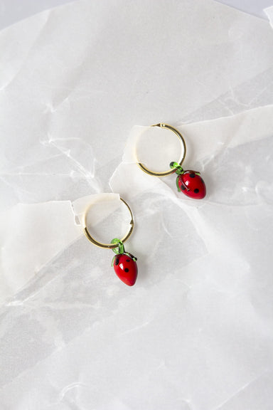 Strawberry Tutti Fruity Earrings