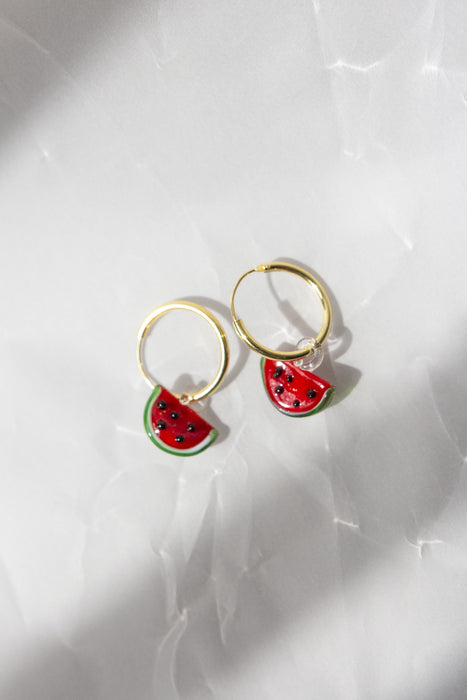 Watermelon Tutti Fruity Earrings