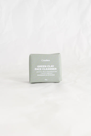 Green Clay Face Cleansing Bar