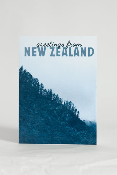 Greetings From New Zealand Karangahake Gorge Card