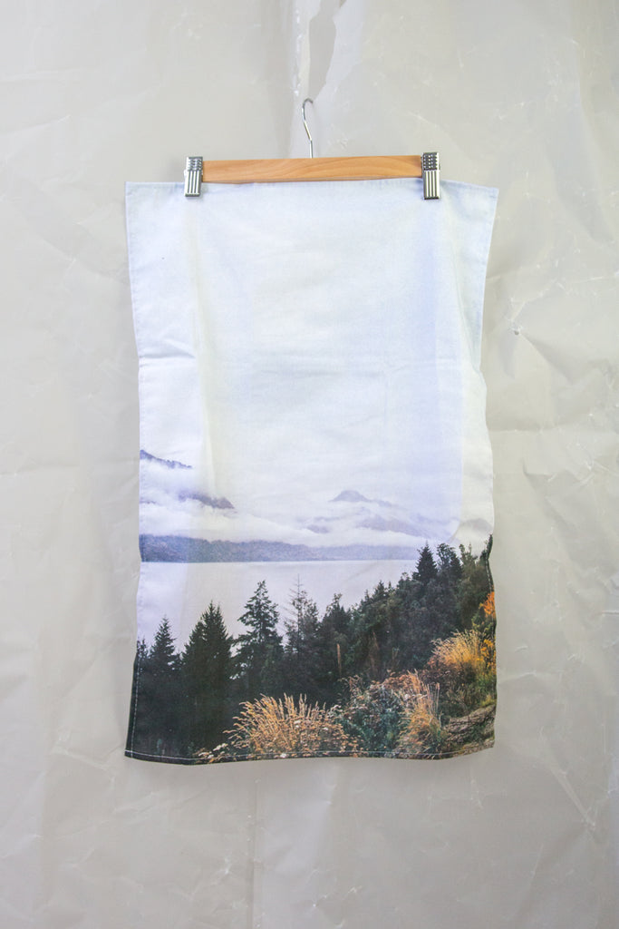 Queenstown Lake 35mm Film Tea Towel
