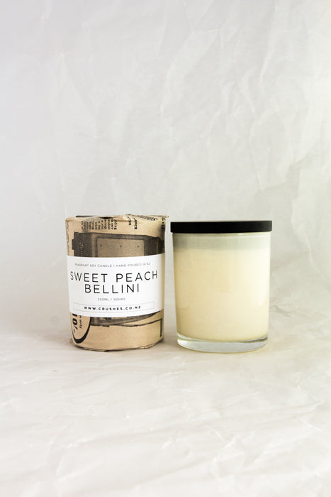 Peach Bellini Soy Candle