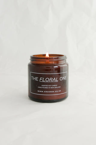 The Floral One - Scented Soy Candle