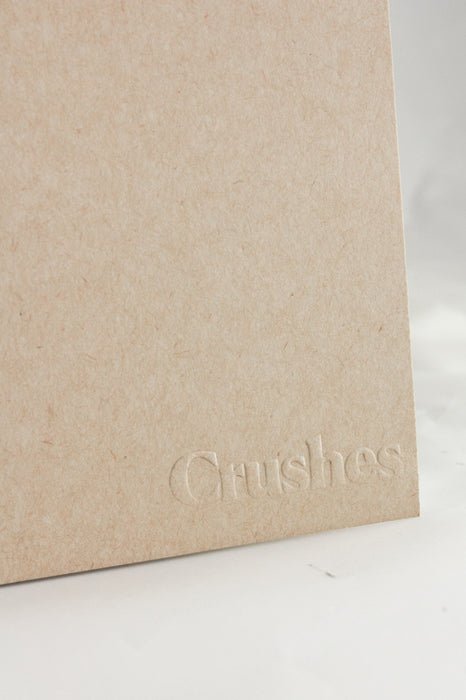 Crushes Kraft A5 Notebook