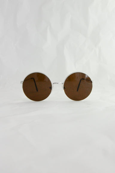 Round 70's - Italian Made Real Vintage Sunglasses