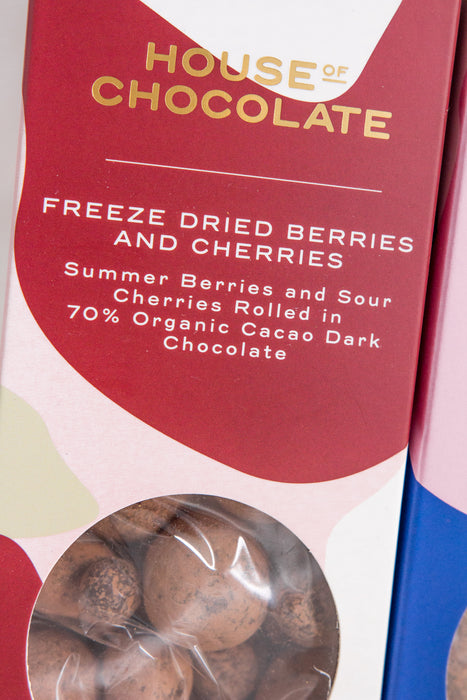 Freeze Dried Berries And Cherries Dragees
