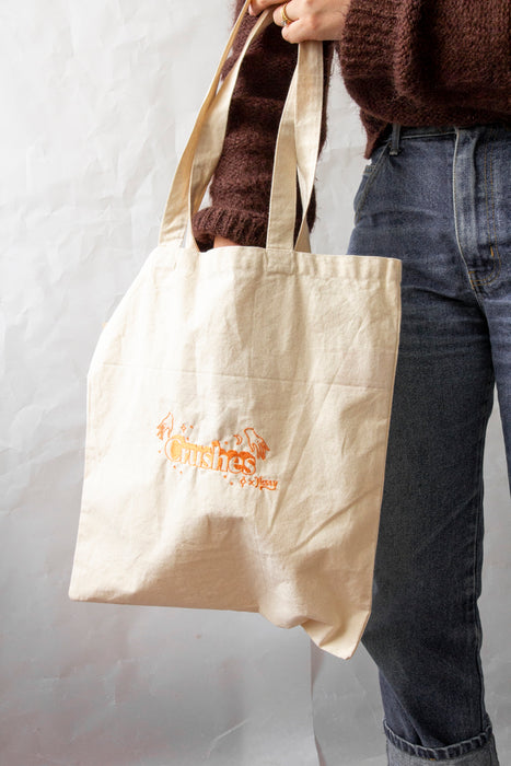 Crushes Embroidered Tote Bag