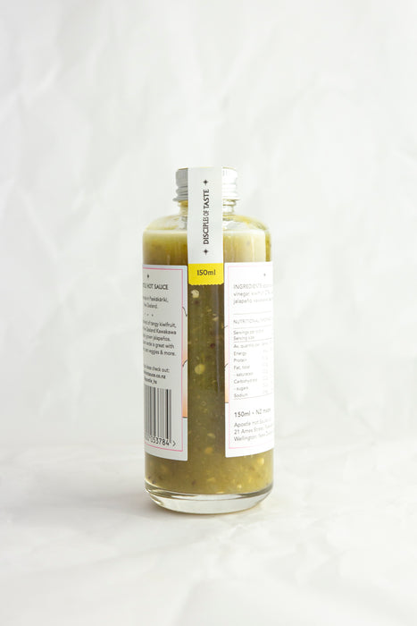 Kiwifruit And Kawakawa Verde Hot Sauce