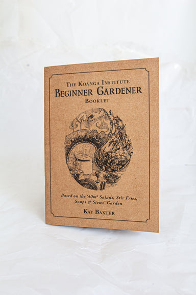 Beginner Gardener Booklet