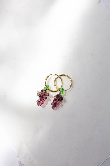 Grape Tutti Fruity Earrings