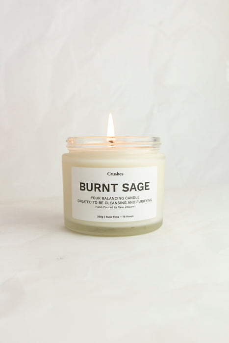 Burnt Sage - Balancing Candle