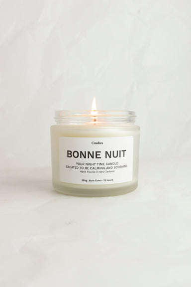 Bonne Nuit - Night Time Candle