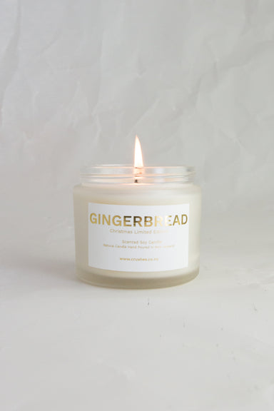 Gingerbread Christmas Candle