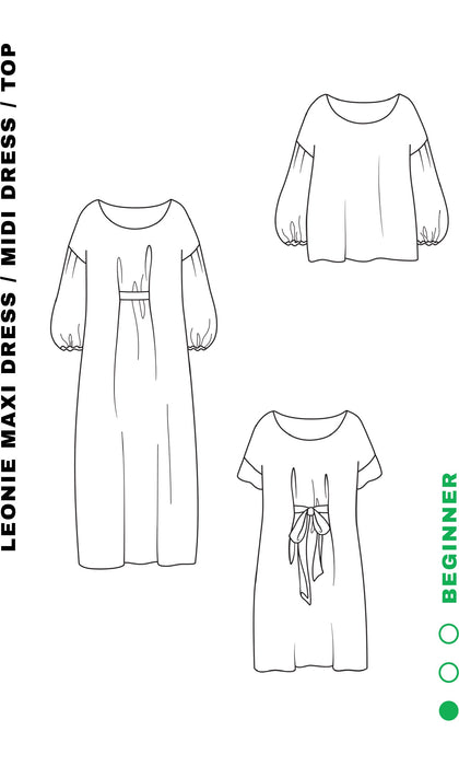 Liam Pattern - Leonie Top / Dress