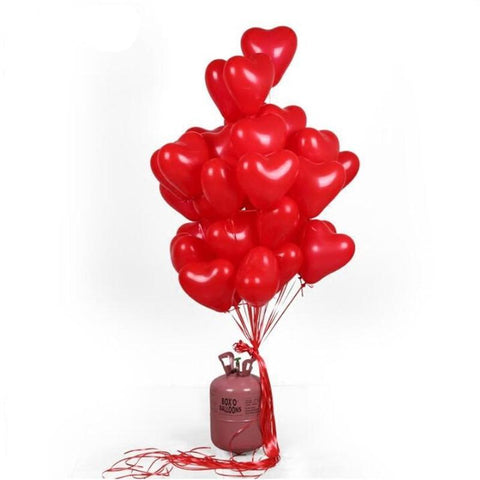 10pcs/lot Romantic 10 Inch Love Heart Balloons