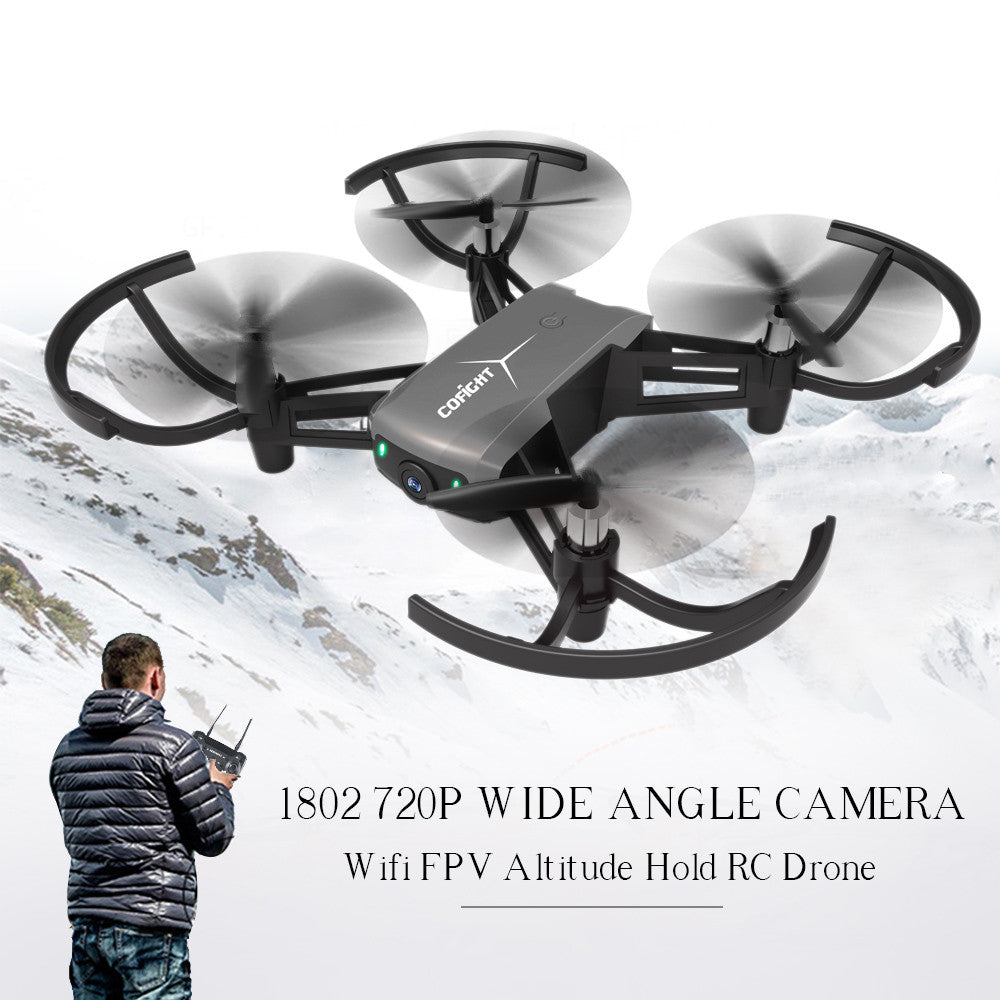 Linxtech 1802 720P Wide Angle Camera Wifi FPV Altitude Hold Drone RC Quadcopter